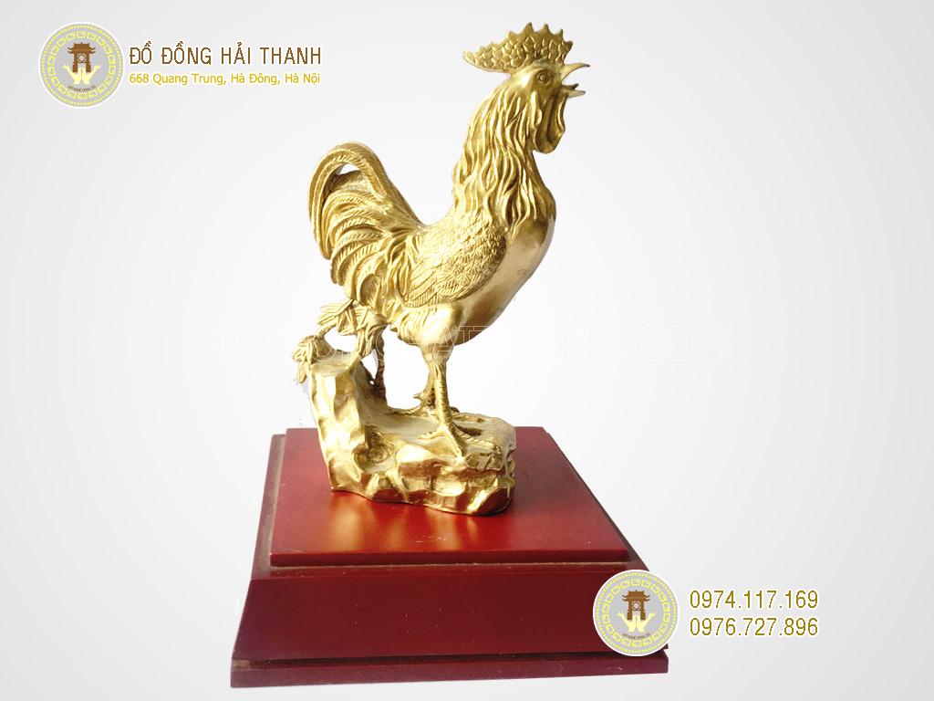tượng gà bằng đồng